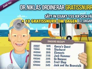 Dr Niklas den 18:e maj 2015