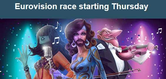EuroVision hos Casino Saga