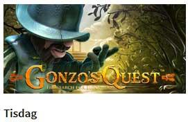 Gonzos Quest tisdag