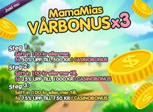 MamaMias vårbonus