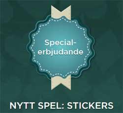 Special erbjudande på Stickers