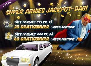 Super Arnies jackpot-dag den 14 maj 2015
