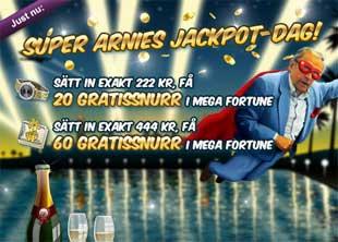 Super Arnies Jackpot-dag