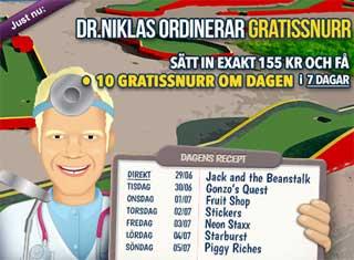 Dr Niklas den 29 maj 2015