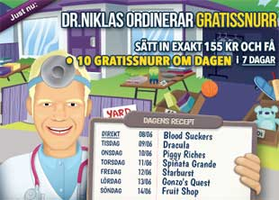 Doktor Niklas den 8 juni 2015