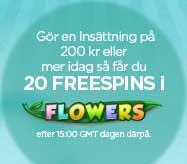 Flowers kampanj hos NextCasino