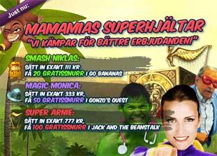 MamaMias superhjältar den 14 juni 2015