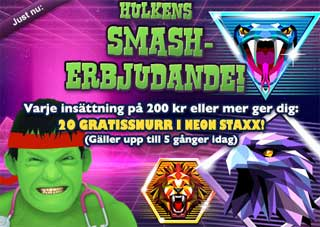 Smash erbjudande den 25 juni
