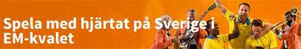 Spela med hjärtat på Sverige i EM-kvalet