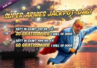 Super Arnies jackpot dag den 28 juni