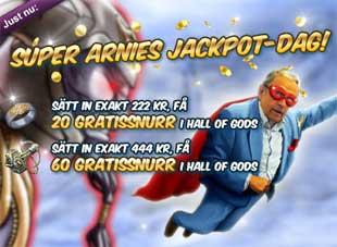 Super Arnies Jackpot-dag den 4 juni