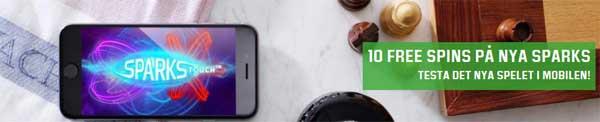 10 frisnurr i Sparks i mobilen