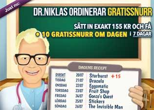 Dr Niklas den 20:e juli 2015