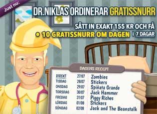 Doktor Niklas den 27 juli