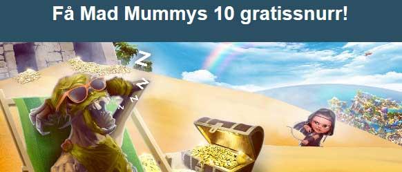 10 frisnurr på Mad Mummys hos CasinoHeroes