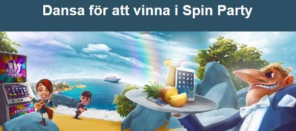 Dans och vinn i Spin Party
