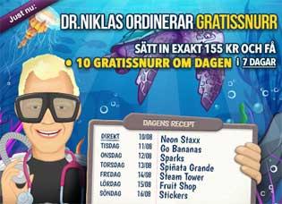 Dr Niklas kampanj den 10 augusti 2015