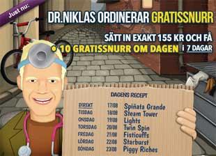 Dr Niklas den 17:e augusti 2015