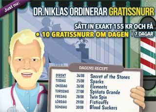 Dr Niklas kampanj den 24:e augusti 2015