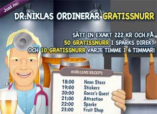 Dr Niklas den 7 augusti 2015