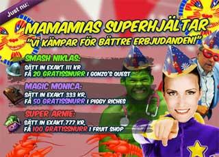 MamaMias superhjältar