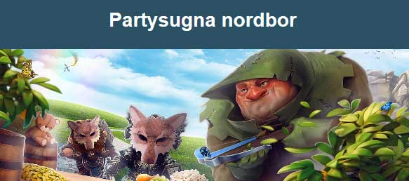 Partysugna nordbor