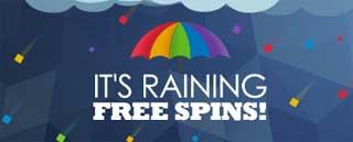 Det regnar free spins
