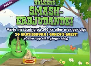 Smash erbjudande den 20:e augusti