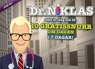 Dr Niklas den 28 september 2015