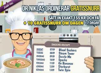 Dr Niklas den 7 september