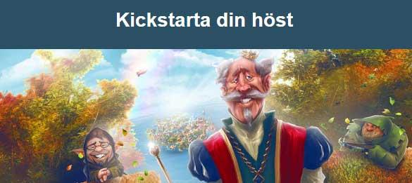 Kickstarta din höst