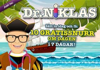 Dr Niklas pirat