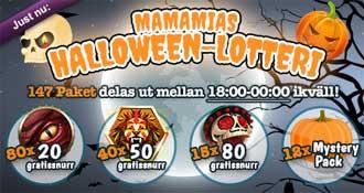 Halloween lotteri