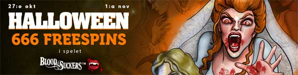 Halloween spins hos CasinoLuck