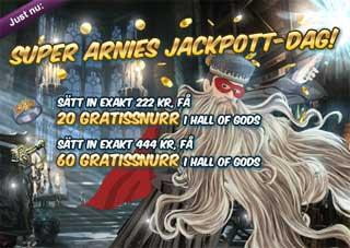 Super Arnies jackpott-dag