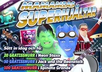 Superhjältar den 10 oktober