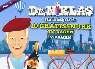 Dr Niklas den 2 november