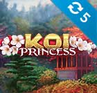 5 spins på Koi Princess