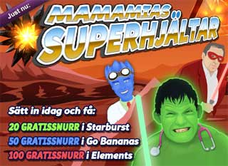 MamaMias superhjältar den 24 november