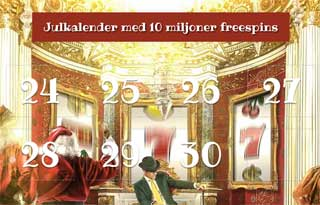 Mr Greens julkalender i november