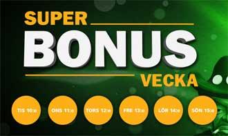 Super bonus vecka