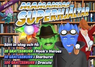 Superhjältar den 14 november 2015