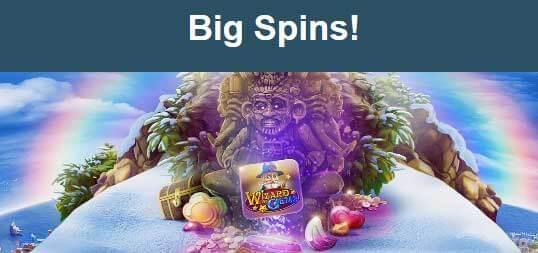 Big Spins Wizard Gems