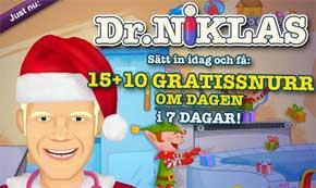Dr Niklas den 14:e december