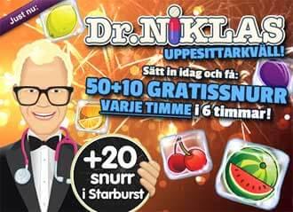 Dr Niklas uppesittarkväll