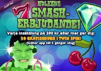 Hulkens smash erbjudande