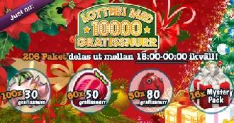 MamaMia lotteri den 25 december