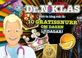 Dr Niklas den 18 januari