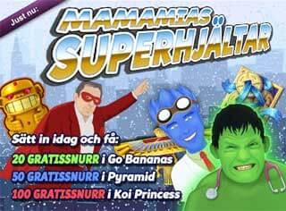 MamaMias superhjältar den 2 januari 2016