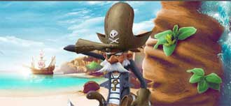 Piratboss hos CasinoHeroes
